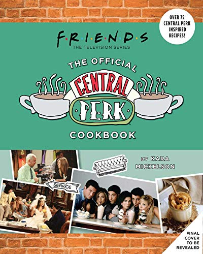 Friends: The Official Central Perk Cookbook Gift Set