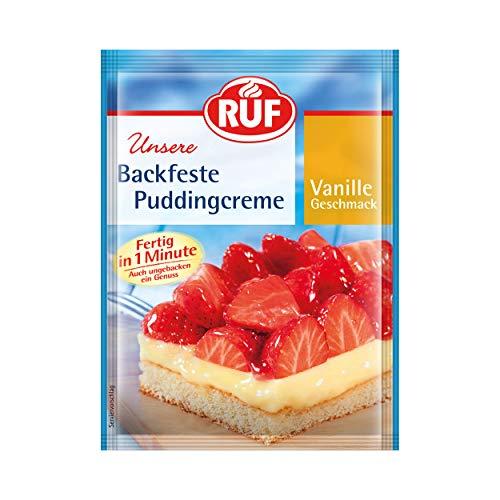 RUF Backfeste Puddingcreme Vanille fertig in 1 Minute (1 x 42 g)