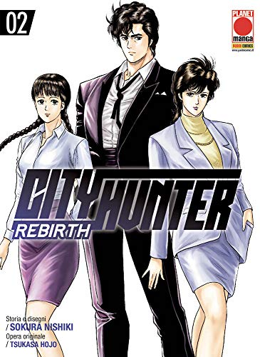 City Hunter Rebirth N° 2 - Planet Manga - Panini Comics - ITALIANO #MYCOMICS