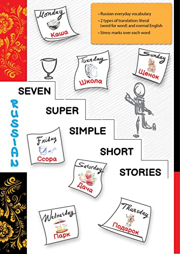 Russian: Seven Super Simple Short Stories: Read and Understand Russian Easily (English Edition)