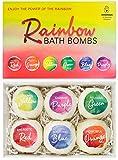 BRUBAKER Cosmetics Bombe da bagno 'Rainbow' - Set da 6 pezzi - vegane, fatte a mano, senza glutine e parabeni