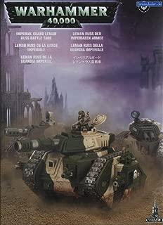 IMPERIAL GUARD LEMAN RUSS WARHAMMER 40K