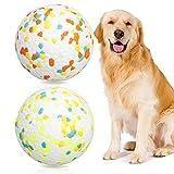 SHINROAD Unzerstörbares Hundespielzeugbälle, Kauspielzeug, starke Gummibälle,...