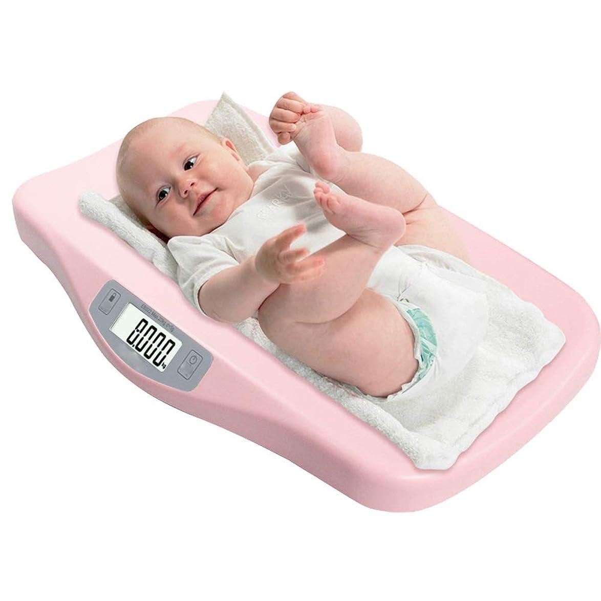 子音ソート歩道赤ちゃんの体重計体重計家庭用赤ちゃんの体重計新生児の体重計体重計赤ちゃんの電子体重計 Miyabitors (Color : Pink)