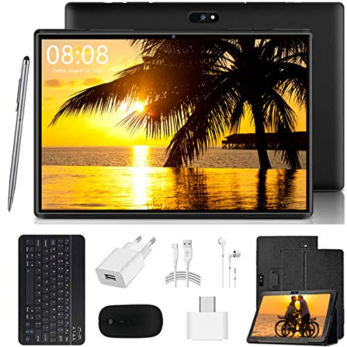 tablet android 10 pollici 4G LTE Tablet PC Ultra-Portatile Tablets 10.1 Pollici Android 9.0 Pie [Certificazione GOOGLE GMS]