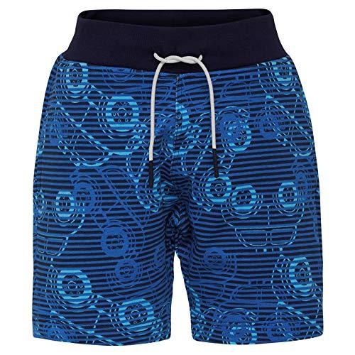 Lego Wear Duplo Boy Pan 322-Sweat Short, Bleu (Dark Navy 590), 98 Bébé garçon