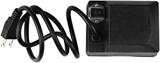 WRKAMA Outdoor Universal Grill Electric Replacement Rotisserie Motor 120 Volt 4 Watt On/Off Switch, Black