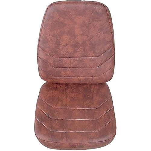 N14340-41CSHNSET-KIT Bwn Suspension Seat Cushion Set Fits Case Backhoe 580K 580SK 580 Super K 590