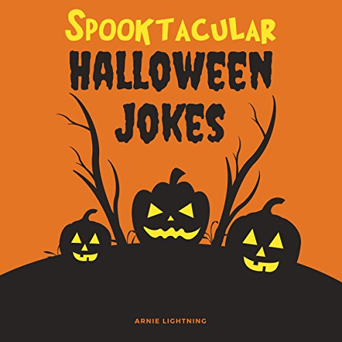 Spooktacular Halloween Jokes audiobook cover art