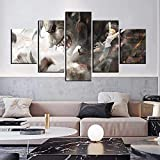 Fondo de pantalla de anime-s846 5 Piezas Cuadros Decoracion Dormitorios Modernos/para Comedor/Cabeceros de Cama/el BañO/Decoracion Hogar Salon-150 x 80 cm