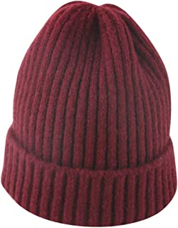fab0bd611c14e3 Fashionhe Toddler Kid Knit Fringe Hat Baby Infant Winter Crochet Beanie  Hairball Solid Cap