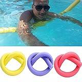 HIANG256 - Flotador de piscina de espuma gruesa para deportes acuáticos y relajación, fuerte y flexible para jacuzzis y piscina, No nulo, como se muestra en la imagen, set in random