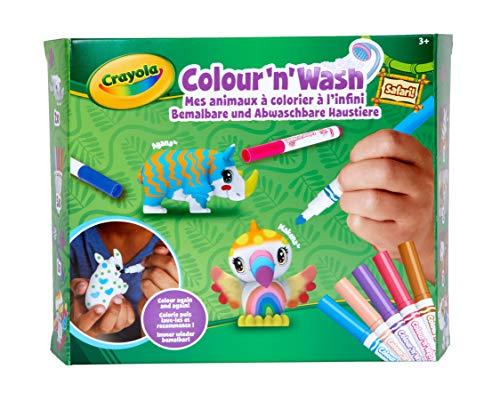 74-7328 Oasis-Piscina con Cuatro Cachorros Crayola- para col