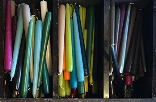 5 KG Leuchterkerzen Stabkerzen konische Kerzen, Spitzkerzen, Markenkerzen aus dt. Produktion, Restposten