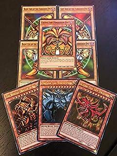 Yu-Gi-Oh! Exodia & God Cards! All Rare 20 Card Lot