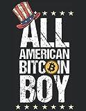 Cuaderno de Bitcoin y Blockchain: Bitcoin y revistas comerciales de CryptoCurrency. Blockchain Regalo de libro de registro para hombres y mujeres.