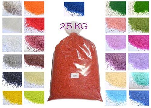 Bleu Clair 1,95//€//kg Bleu 0,5/mm Sable d/écoratif Season Couleurs de Sable 1/kg dans Le Sac,
