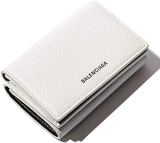 (バレンシアガ) BALENCIAGA レザー ロゴ 三つ折り ミニ財布 VILLE [BC5582080OTG3] [並行輸入品]