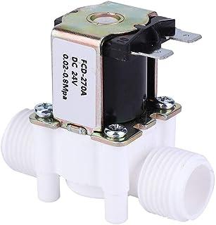 G1/2 tum magnetventil, DC 24 V/AC 220 V inlopp vatten magnetventil NC elektrisk vatteninloppsventil (DC 24 V)