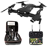 le-idea Drone con Telecamera 4K HD, Drone RC GPS con Camera Professionale, 5GHz WiFi FPV, Quadcopter...