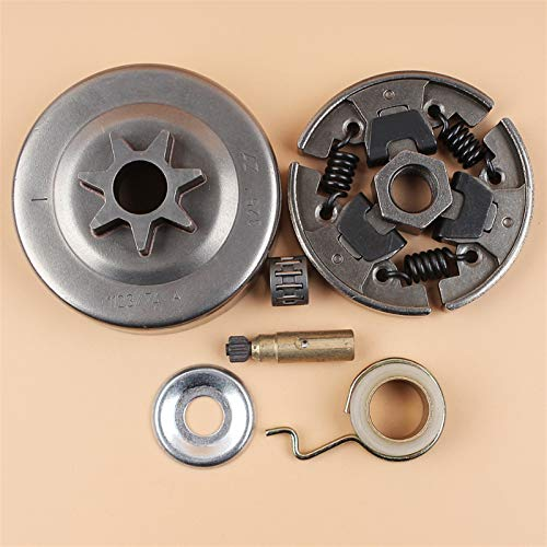 NAWQK .325'7T Clutch Drum Gusano Kit de Engranajes Fit for STIHL 017 018 MS170 MS180 170 180 021 023 025 MS210 MS230 MS250 Motosierra