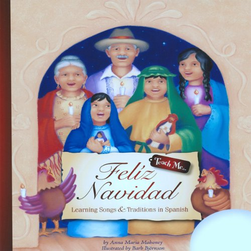 Teach Me Feliz Navidad audiobook cover art