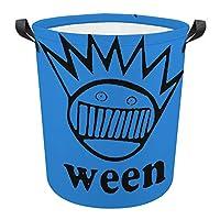 Ween2 収納ビン、保育園ハンパーオックスフォード布ランドリーバスケット防水コーティングで折り畳み可能子供男の子と女の子のための大きな収納バスケット、オフィス、寝室、衣類、おもちゃ