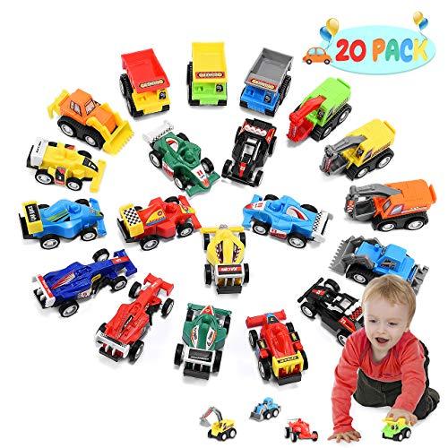 ATOPDREAM Kleine Geschenke für Kinder, Spielzeugautos ab 1-4 Jahren Kinderspielzeug ab1-4 Jahre Weihnachts Geschenke für Kinder ab 3-12 Jahre Geschenke für Kinder 1-4 Jahre Jungen Spielzeug
