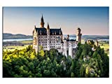 kunst-discounter Bild Leinwandbilder Schloss Neuschwanstein