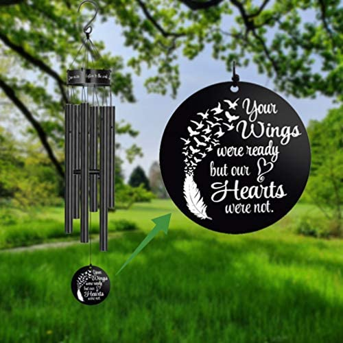 MEMGIFT Memorial Wind Chimes for Loss of Loved One Sympathy Gifts Loss of Mother Father Wife product image