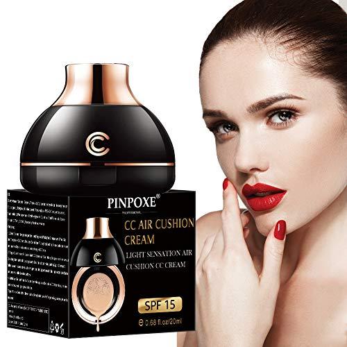 CC Creme, BB Creme, Flüssige Foundation, Flüssige Grundierung, Make up Concealer für Gesicht, Primer Langlebig und Perfekte Abdeckung