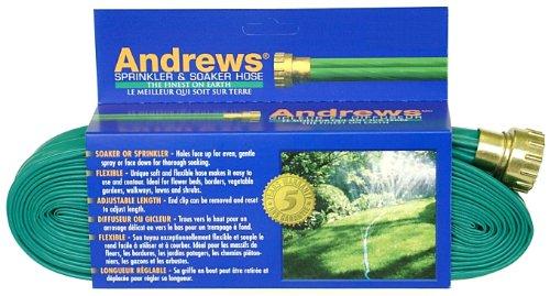 Andrews 100-Foot 2 Tube Sprinkler Hose 10-12349