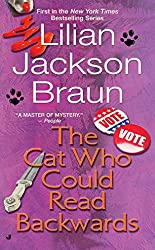 Cat Mystery books - The Cat Who Could Read Backwards