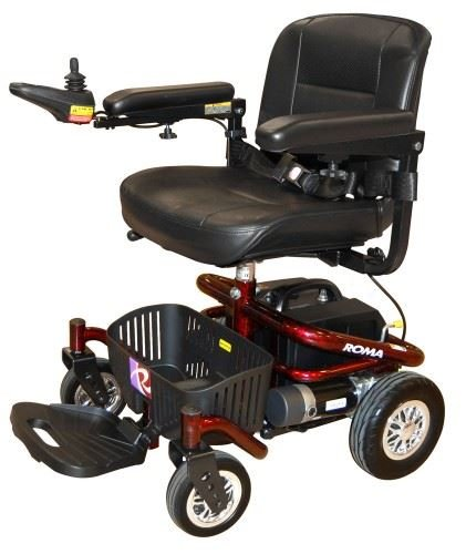 Roma Medical Reno II Kinderstoel Elektrische Binnen Mobiliteit Scooter Deluxe Seat