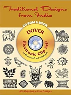 Traditional Designs from India CD-Rom and Book