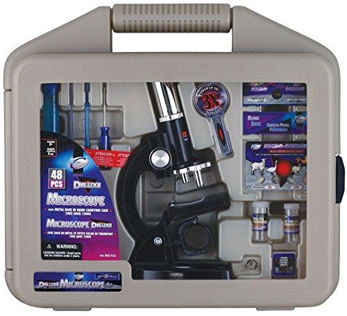 VEDES 37601233 - Juego de microscopios en maletín (48 Piezas)