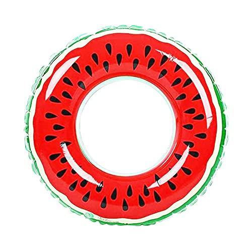 ITNP Schwimmhilfe Haifisch Schwimmsitz Donut Schwimmring Aufblasbare Donut Wassermelone für Kleinkind Schwimmhilfe Spielzeug 85CM