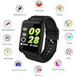 Ambay computer 1.3 inch Color Screen Fitness Tracker HR with Heart Rate Blood