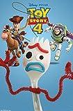 Trends International Disney Pixar Toy Story 4 - Trio Wall Poster, 22.375' x 34', Unframed Version