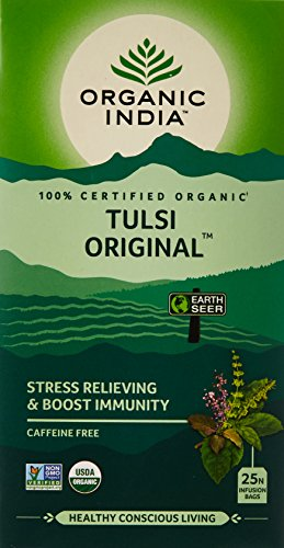 Organic India Tulsi Original Tea, 25 Infusion Tea Bags
