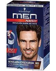 Schwarzkopf Men Perfect Saç Boyası 80 - Kahve Siyah, 80 Ml