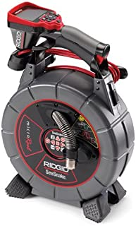 RIDGID 40798 SeeSnake L100 MicroReel Video Inspection Camera System with CA-350 Inspection Camera Monitor, Plumbing Camera Snake with Monitor