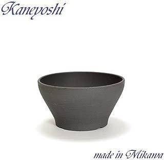 鉢 三河焼 KANEYOSHI 【日本製/安心の国産品質】 陶器 植木鉢 三河焼 バリウス 古風焼 7号