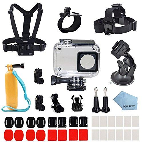 Rhodesy Zubehör für Xiaomi Yi 41 in 1, Xiaomi Yi 4K/4K+ Wasserfest Beschichtet Zubehör-Bundle für Xiaomi Yi 4K/4K+/Yi Lite/Yi Discovery Aktion Kamera 2