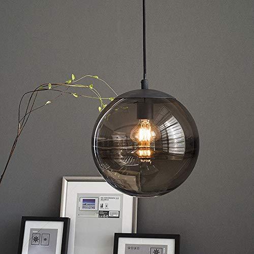 Kroonluchter Amerikaanse kroonluchter plafondlamp glas retro intrekbaar industrie ijzer slaapkamer studio