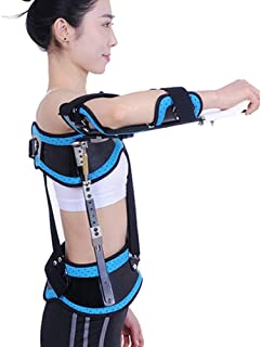 Shoulder Abduction Orthosis, Adjustable Shoulder Immobilizer Elbow Brace Arm Sling, for Fracture And Dislocation Injury Su...