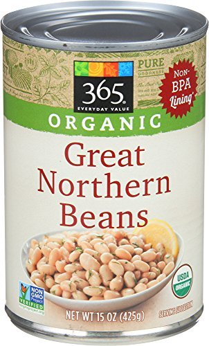 365 by Whole Foods Market, Beans Great Northern Organic, 15.5 Ounce