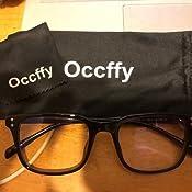 Tablette Occffy Lunettes Anti Lumi/ère Bleue /à Verres Transparents Lunette Anti Fatigue oculaire pour Homme Femme Filtre PC Jeux vid/éo Gaming Oc092
