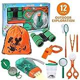 Lehoo Castle Kit de Explorador para Niños, Set de Juguetes al Aire Libre 12...