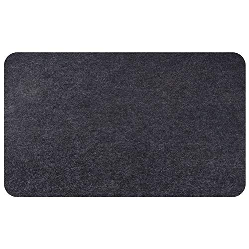Fasmov 30 x 48 inches Under Grill Mat, Reusable Outdoor Grill Floor Mat, Under Grill Floor Mats to Protect Deck, BBQ Mat for Under BBQ, Absorbent Oil Pad Protector for Decks and Patios